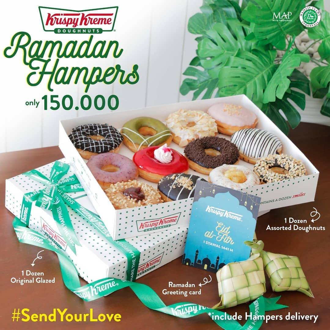 Diskon Krispy Kreme Promo Special Value Ramadan Hampers Only For IDR 150.000