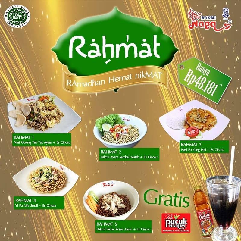 Diskon Bakmi Naga Promo Paket Rahmat Cuma Rp. 48.181