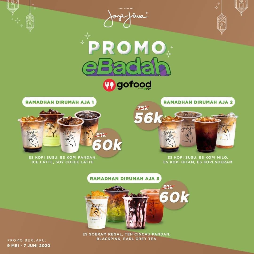 Diskon Kopi Lain Hati Promo Ebadah, Paket Ramadhan Dirumah Aja Khusus Pemesanan Via GoFood