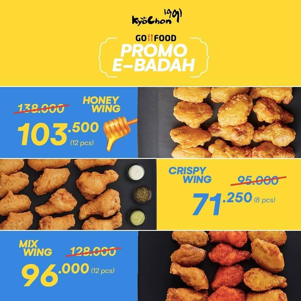 Diskon Kyochon Promo E-Badah, Harga Spesial Paket Spesial & Paket Iftar Untuk Pemesanan Via GoFood