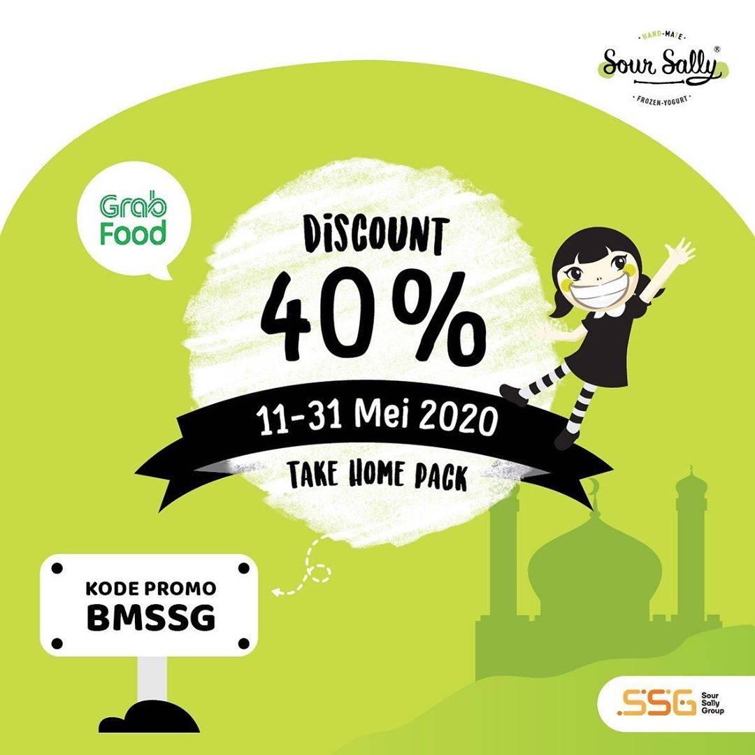 Diskon Sour Sally Promo Diskon 40% Untuk Pemesanan Home Pack Melalui GrabFood