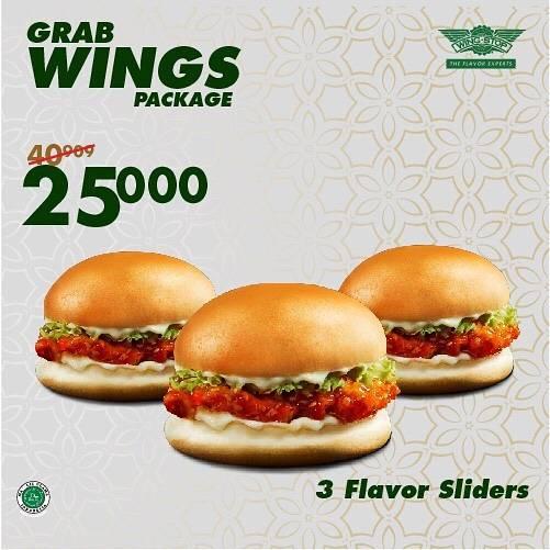 Diskon Wingstop Promo Grab Wings Package Dengan Harga Mulai Dari Rp. 25.000