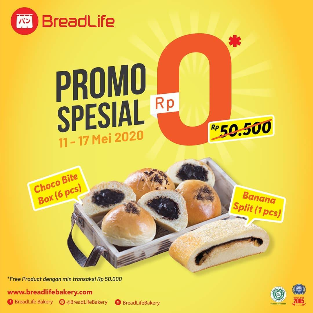 Diskon Breadlife Promo Spesial Gratis Choco Bite Box & Banana Split