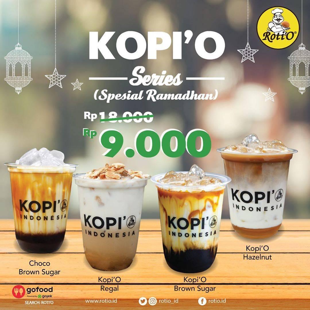 Diskon Roti'O Promo Kopi'O Series Spesial Ramadhan Dengan Harga Mulai Dari Rp. 9.000