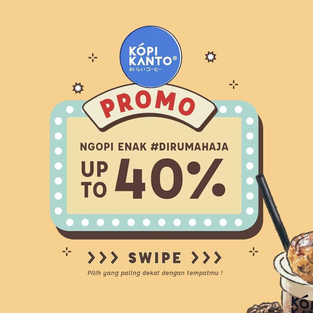 Diskon Kopi Kanto Promo Ngopi Enak Di Rumah Aja Dapatkan Diskon Hingga 40% Untuk Pemesanan Via GrabFood