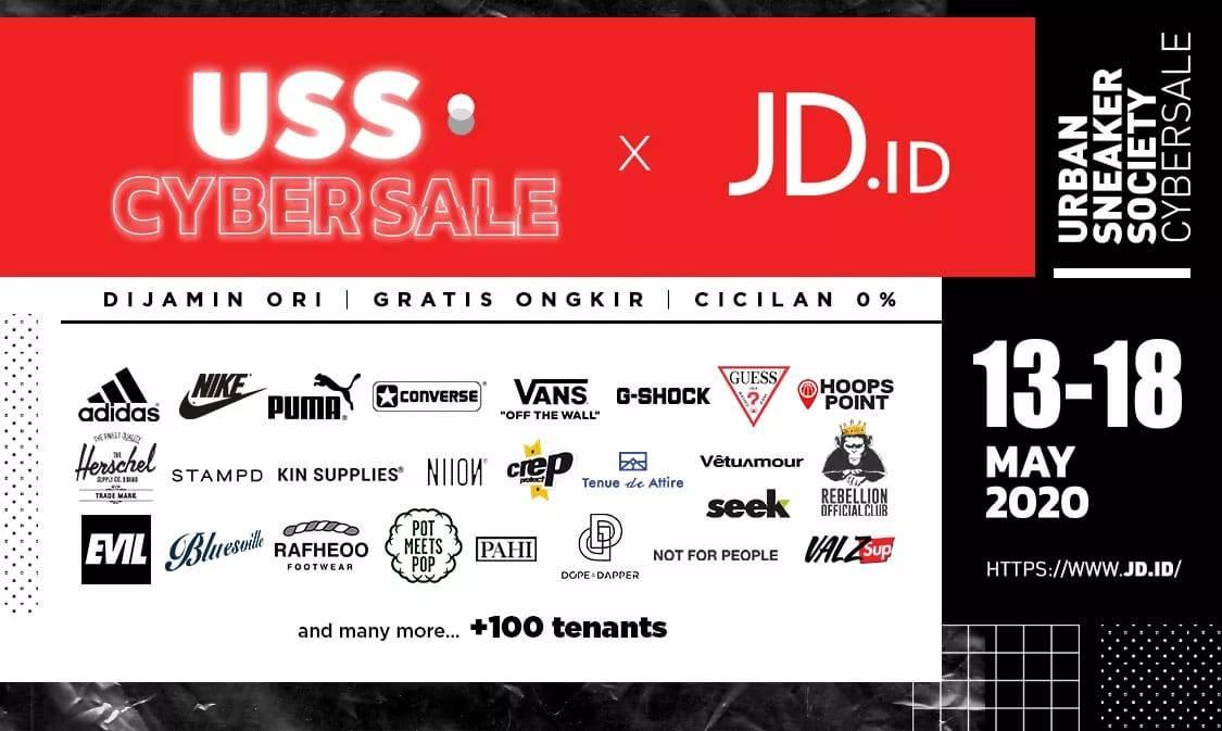Diskon JD.ID Promo Urban Sneaker Society Cybersale