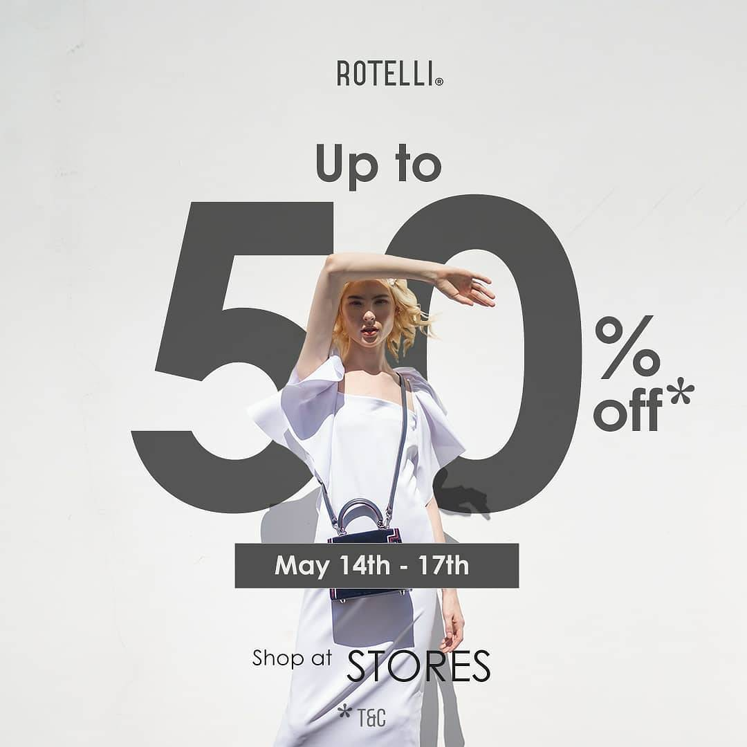 Diskon Rotelli Promo Discount Up To 50% Off