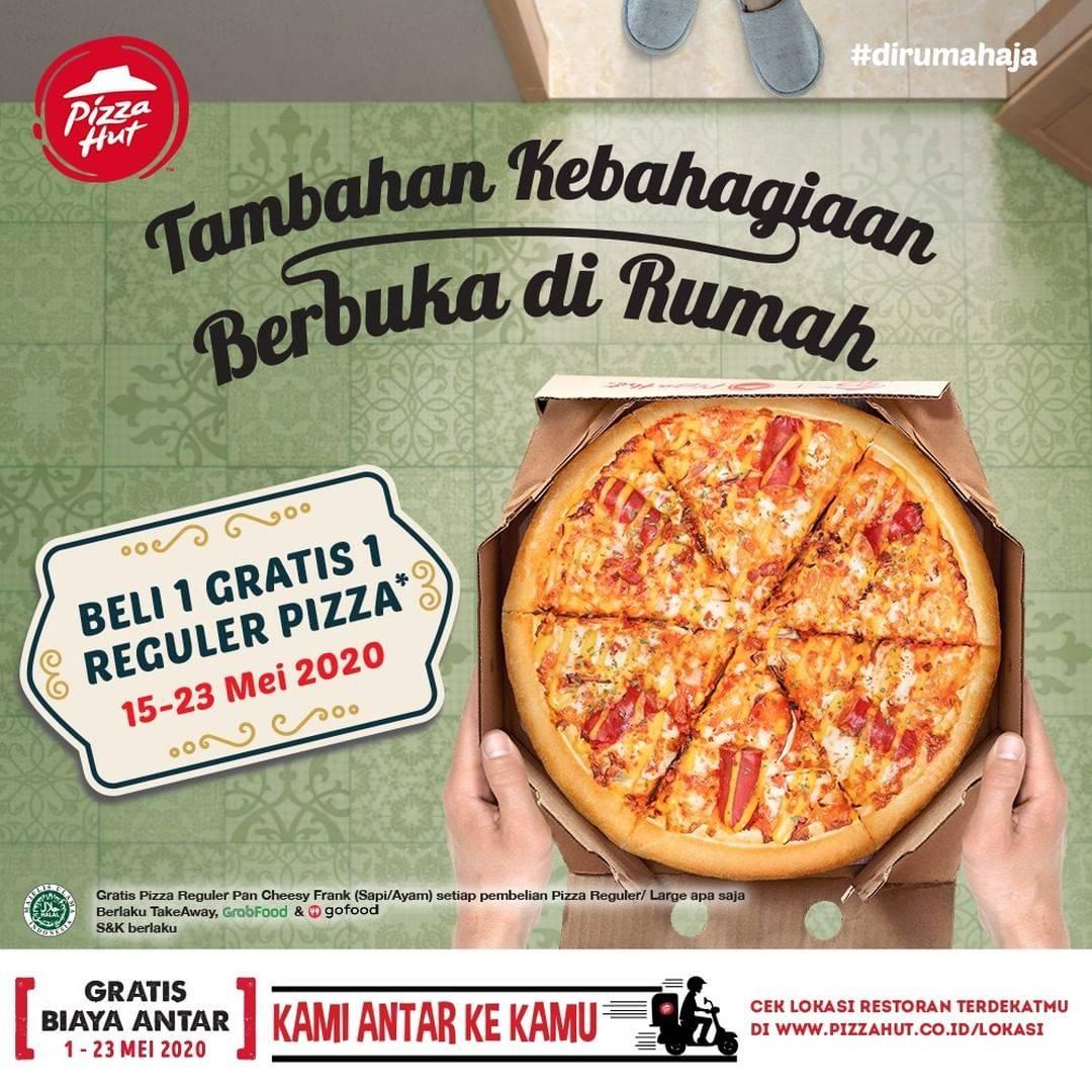 Diskon Pizza Hut Promo Beli 1 Gratis 1 Pizza