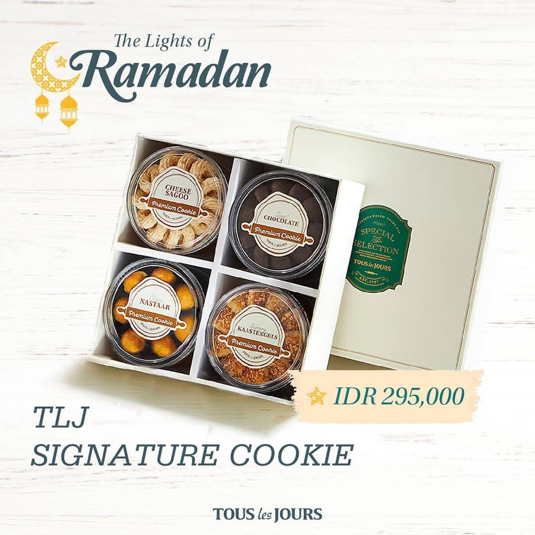 Diskon Tous Les Jours Promo Special Value Of Signature Cookies Only For IDR 295.000