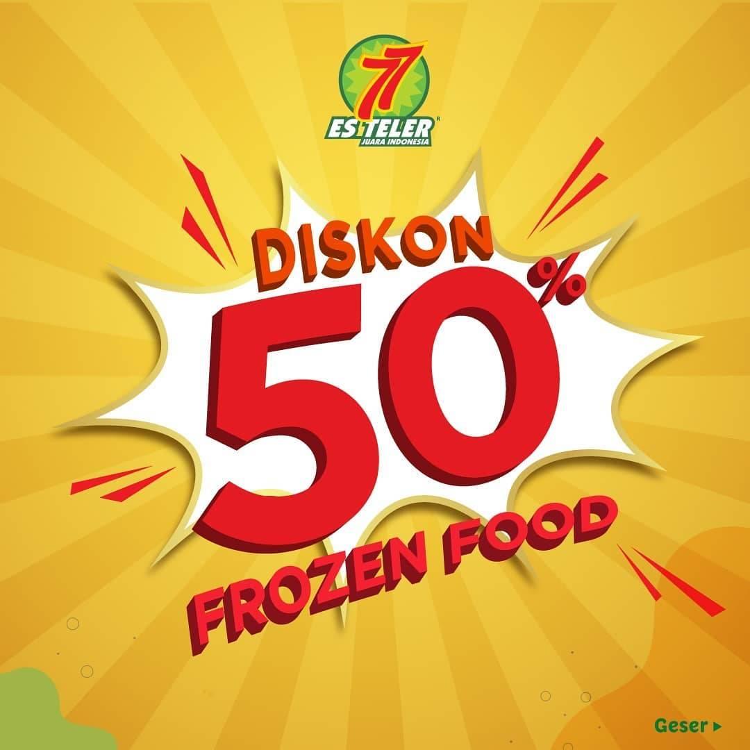 Diskon Es Teler 77 Promo Diskon 50% Untuk Frozen Food