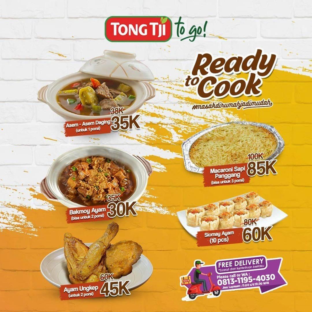 Diskon Tong Tji Promo Menu Ready To Cook Dengan Harga Mulai Dari Rp. 30.000
