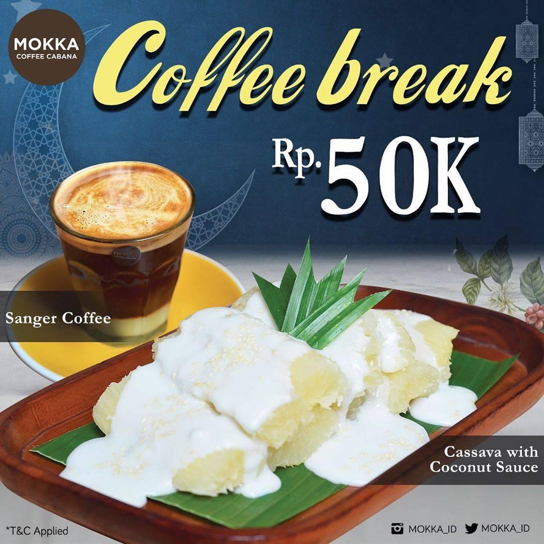 Diskon Mokka Coffee Cabana Promo Coffee Break Only For Rp. 50.000