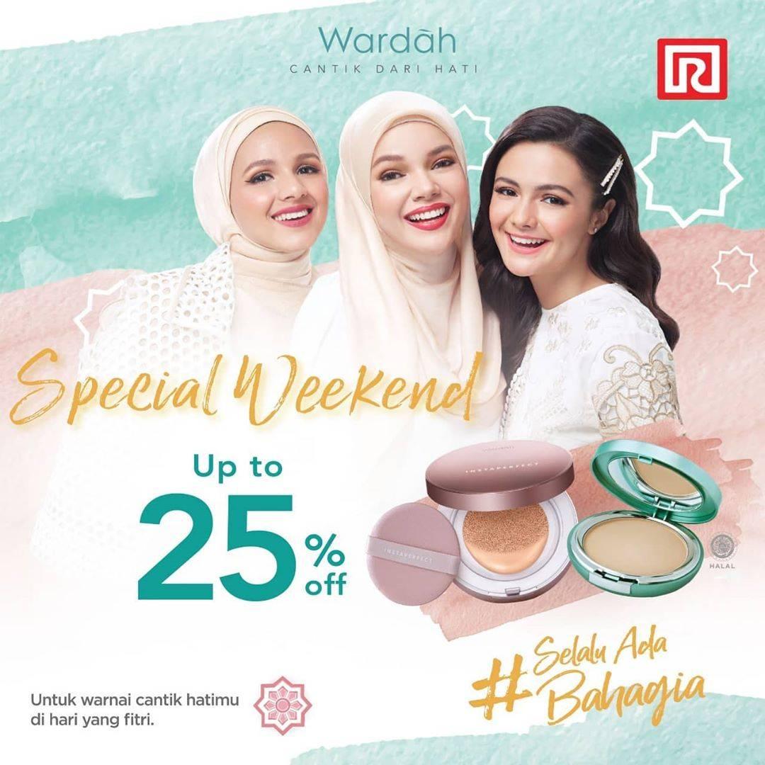 Diskon Ramayana Department Store Promo Diskon 25% Untuk Produk Kecantikan Dari Brand Wardah