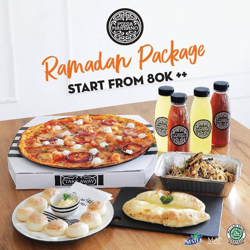 Diskon Pizza Marzano Promo Special Value Ramadan Package Start From Rp. 80.000