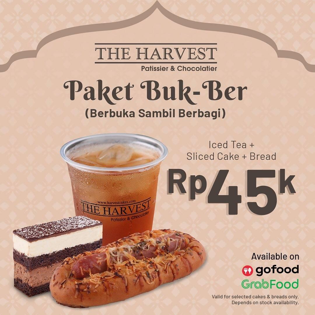 Diskon The Harvest Promo Paket Bukber Hanya Rp. 45.000