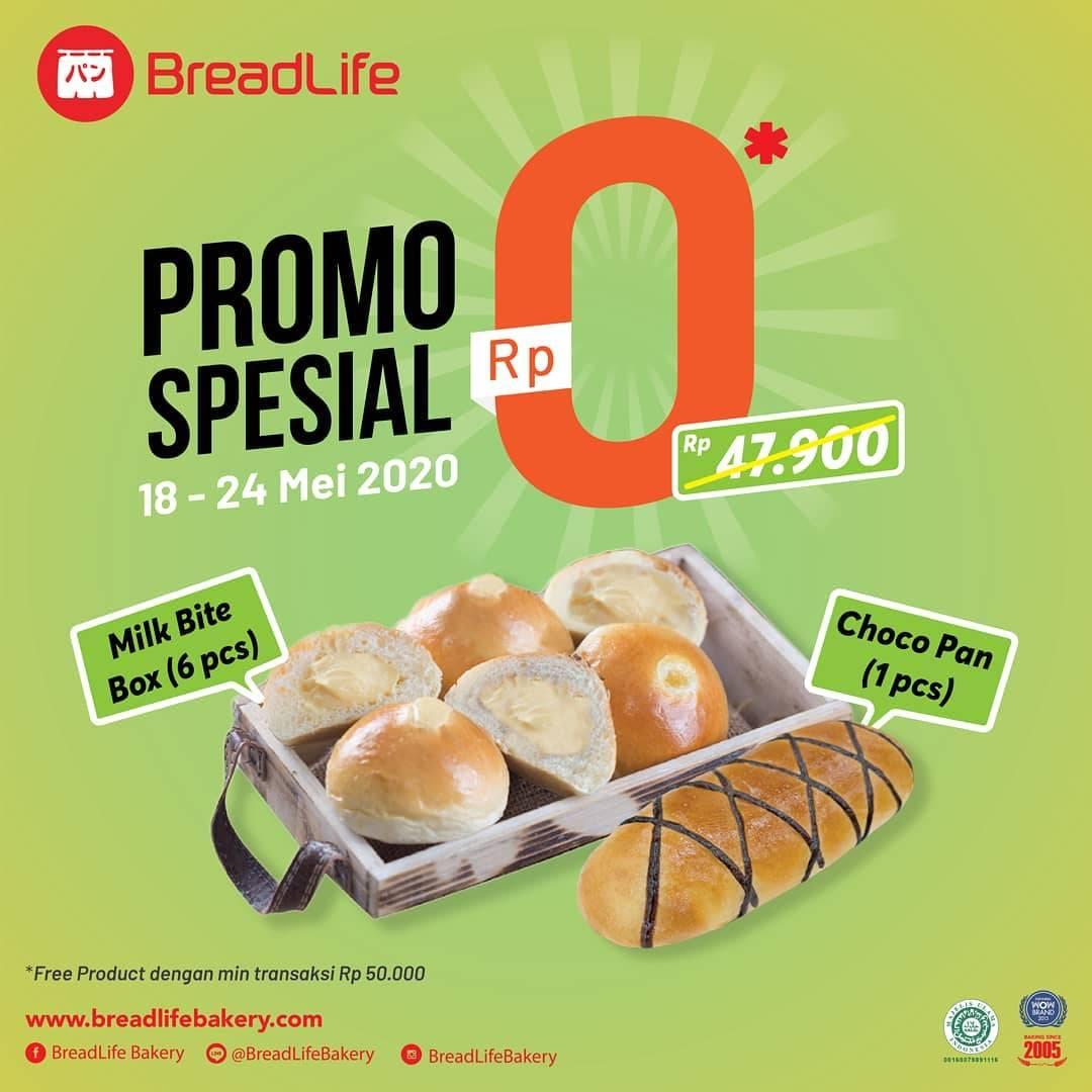 Diskon Breadlife Promo Gratis Milk Bite Box + Chocopan
