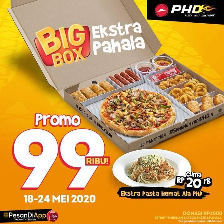 Diskon PHD Promo Big Box Ekstra Pahala Cuma Rp. 99.000