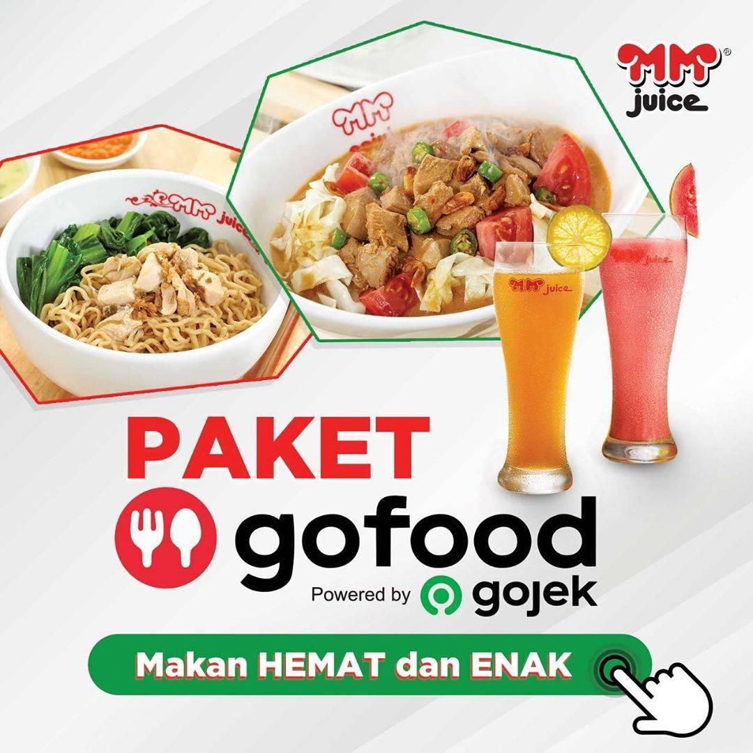 Diskon MM Juice Promo Paket Gojek Dengan Harga Mulai Dari Rp. 35.000 Untuk Pemesanan Via GoFood
