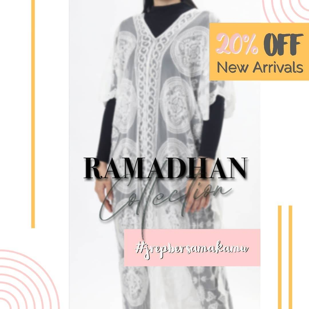 Diskon J.Rep Promo Discount 20% Off Of New Arrivals Ramadhan Collection