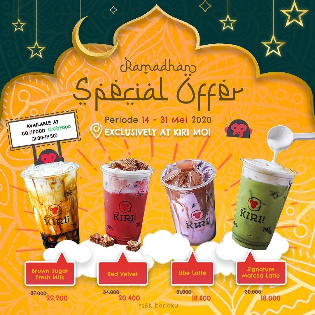 Diskon Kiri Mall Of Indonesia Promo Ramadhan Special Offer Get Beverages Start From IDR 18.000