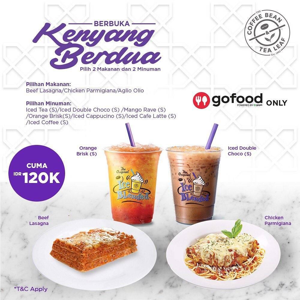 Diskon The Coffee Bean & Tea Leaf Promo Paket Buka Puasa Dengan Harga Mulai Dari Rp. 80.000