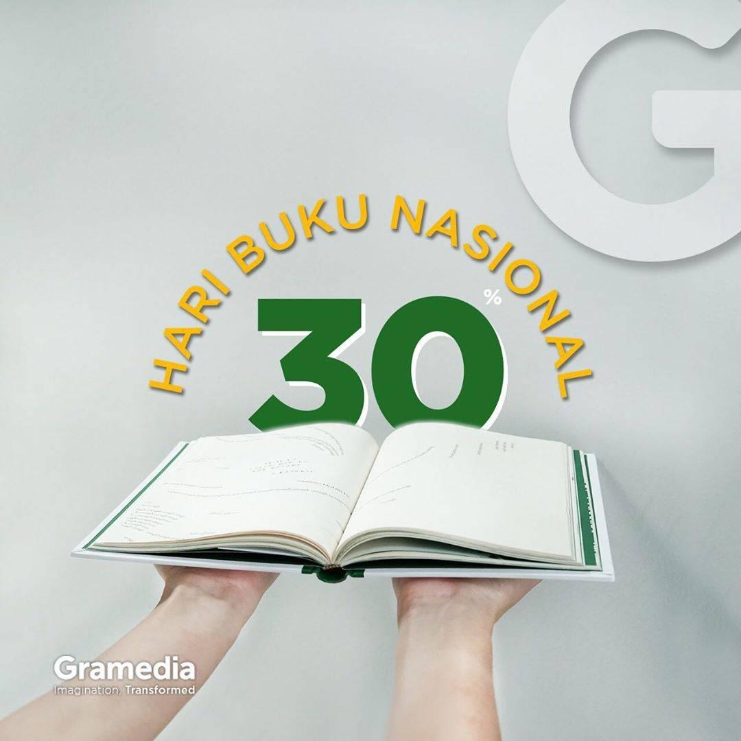 Diskon Gramedia Promo Diskon 30% Dengan Transaksi Pakai Kartu Kredit/Debit BCA/BNI