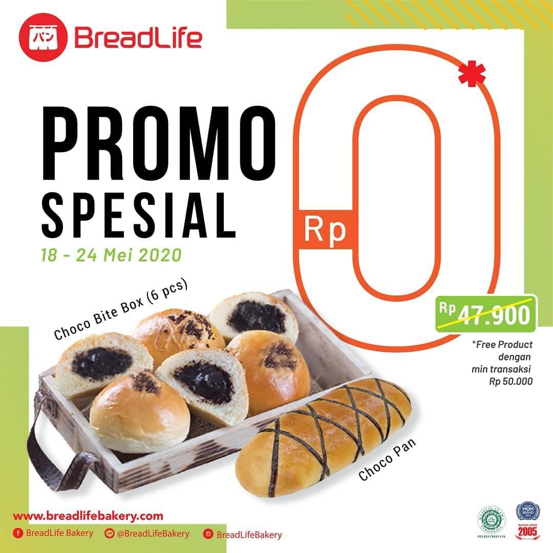 Diskon Breadlife Promo Gratis Choco Bite Box + Choco Pan