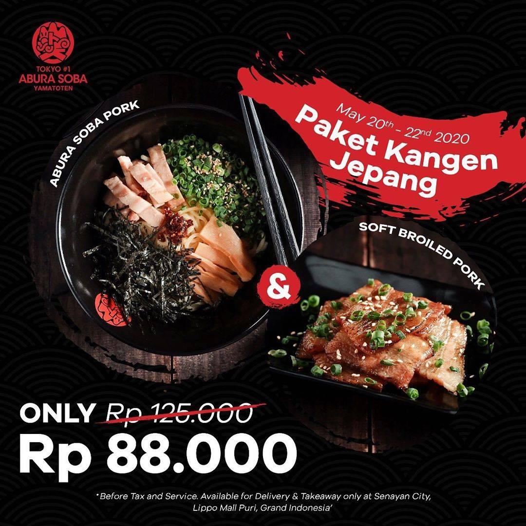 Diskon Abura Soba Promo Harga Spesial Paket Kangen Jepang Dengan Harga Mulai Dari Rp. 85.000