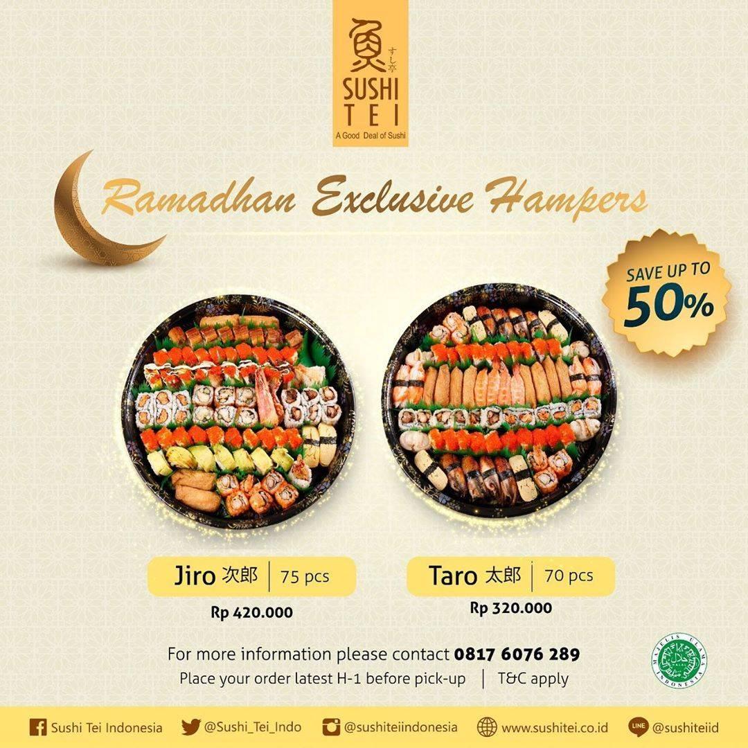 Diskon Sushi Tei Promo Diskon 50% Untuk Ramadhan Exclusive Hampers