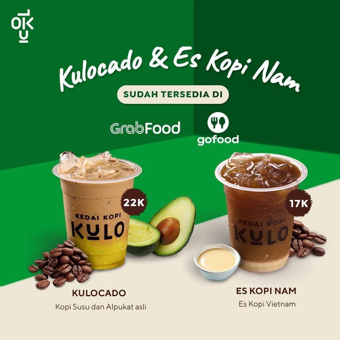 Diskon Kedai Kopi Kulo Promo Kulcado & Es Kopi Nam Dengan Harga Mulai Dari Rp. 17.000