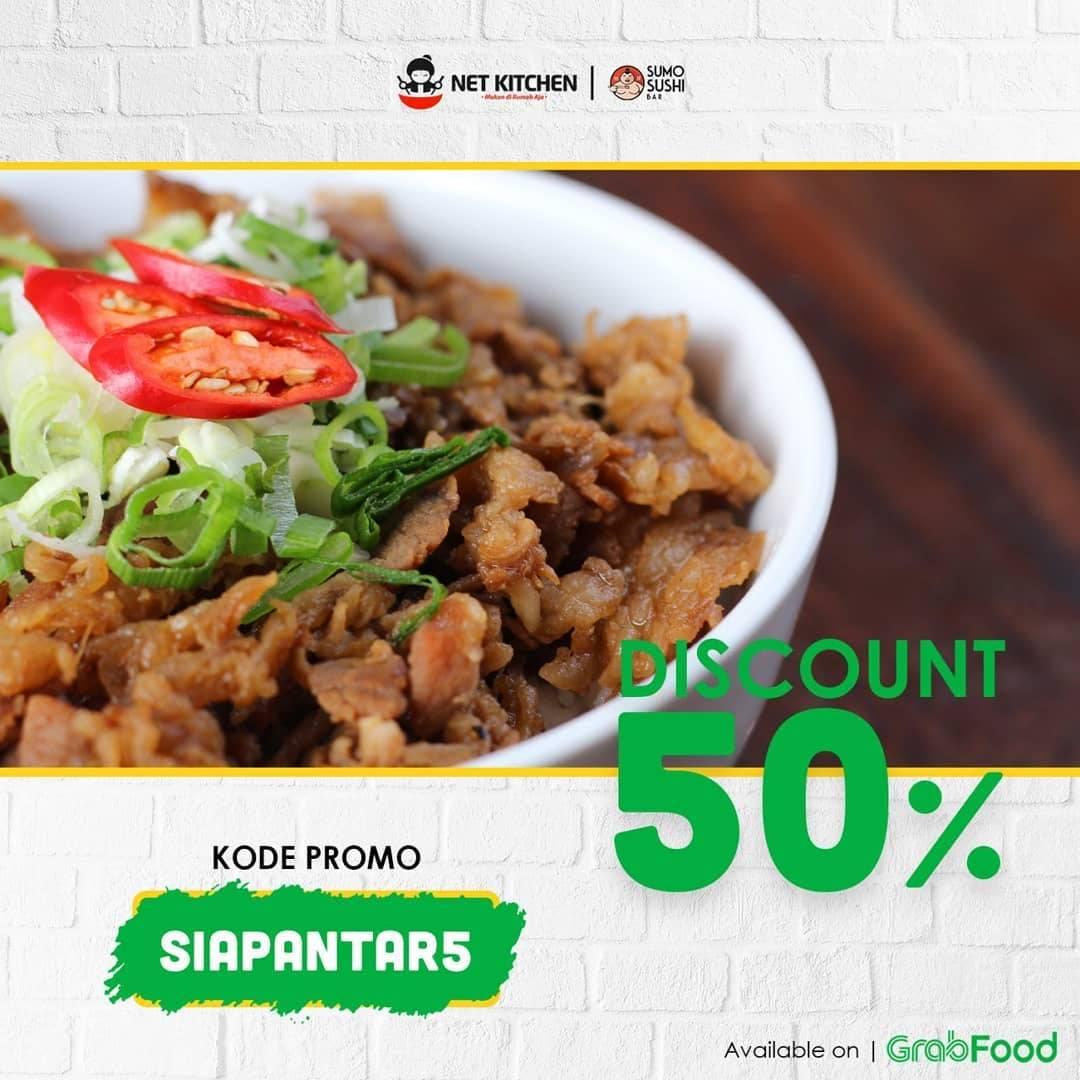 Sumo Sushi Promo Diskon 50 Untuk Pemesanan Makanan Melalui Grabfood Disqonin