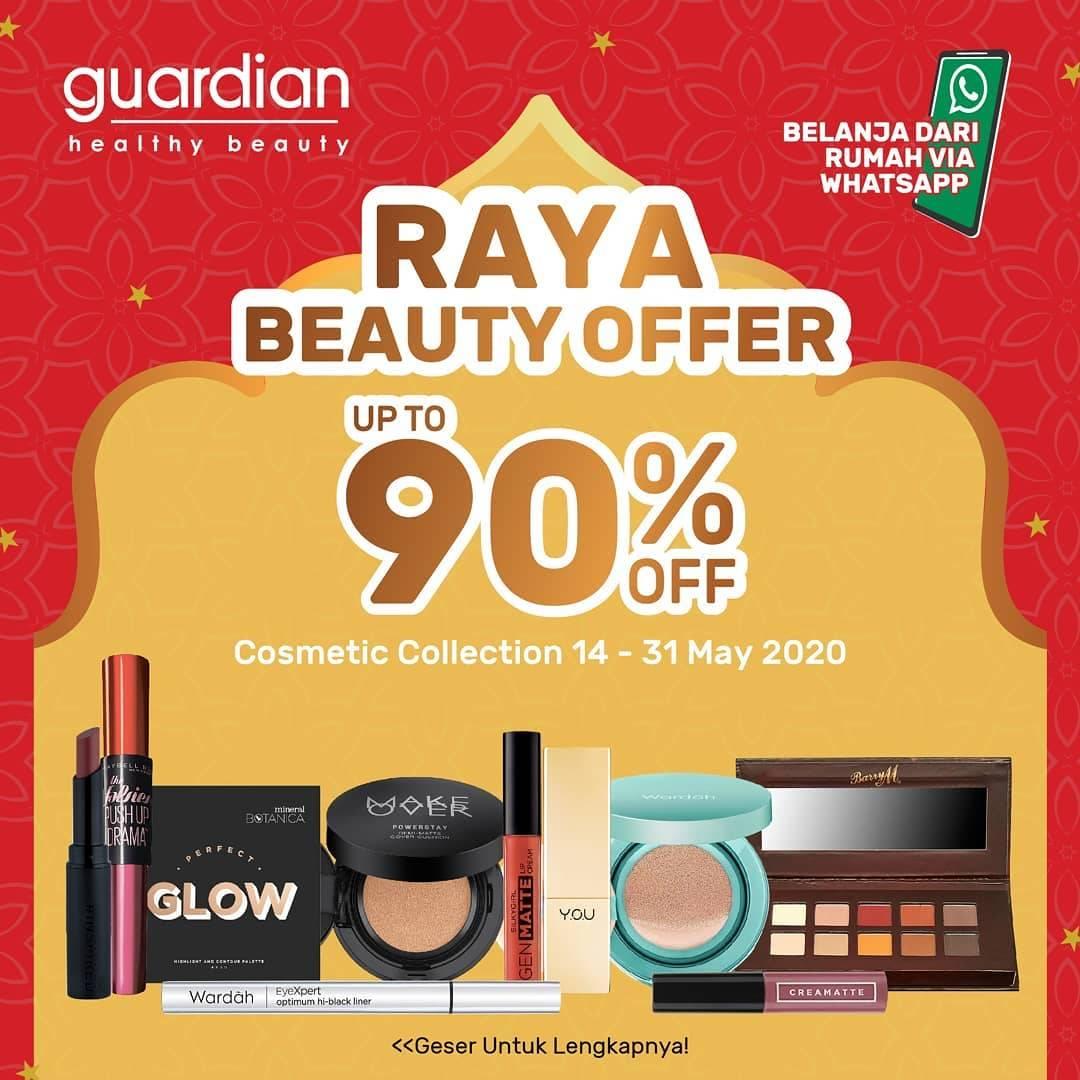 Diskon Guardian Promo Raya Beauty Offer Up To 90% Off