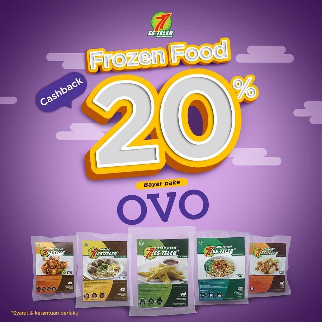 Diskon Es Teler 77 Promo Cashback 20% Setiap Transaksi Menggunakan OVO