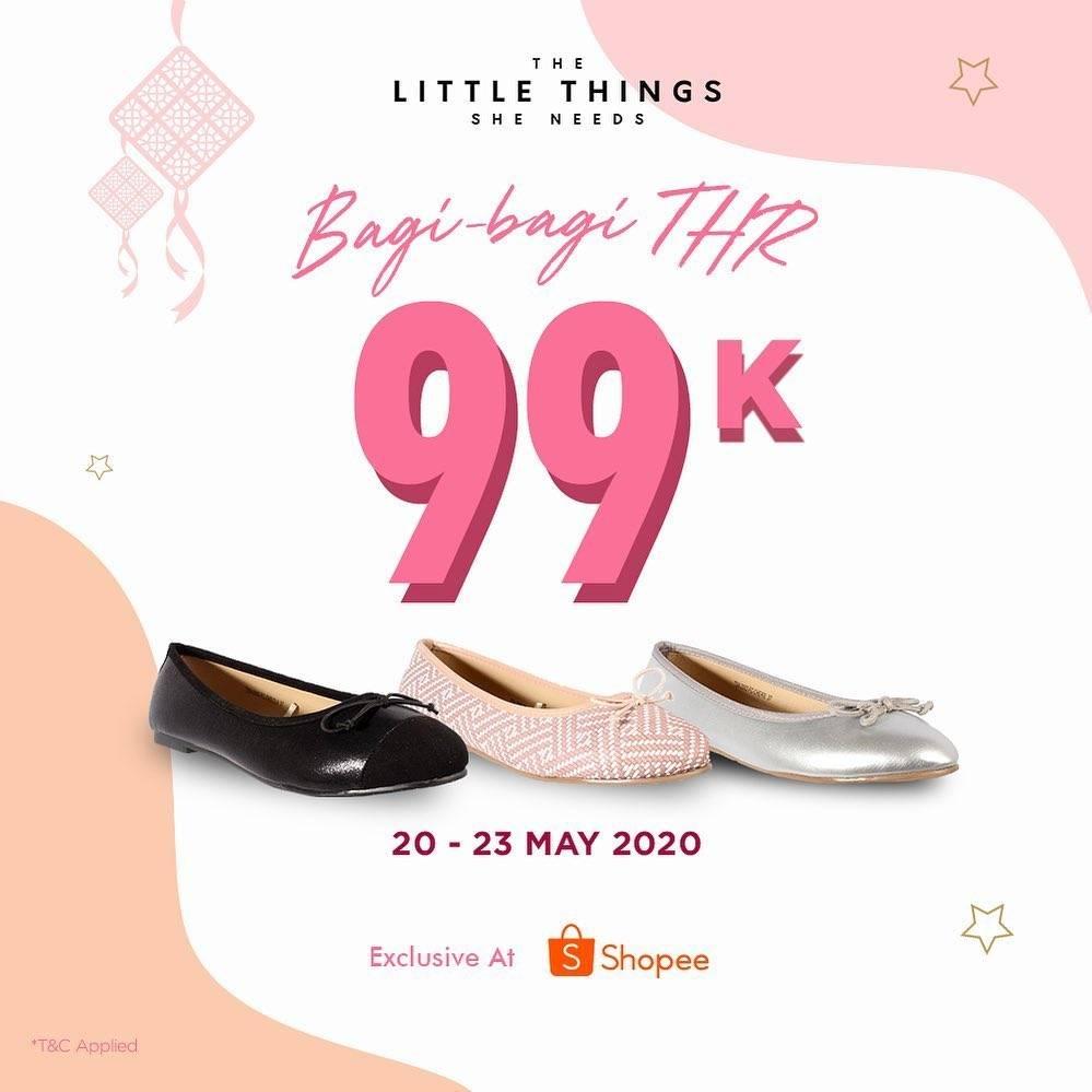 Diskon The Little Things She Needs Promo Bagi-Bagi THR Eksklusif Hanya Di Shopee