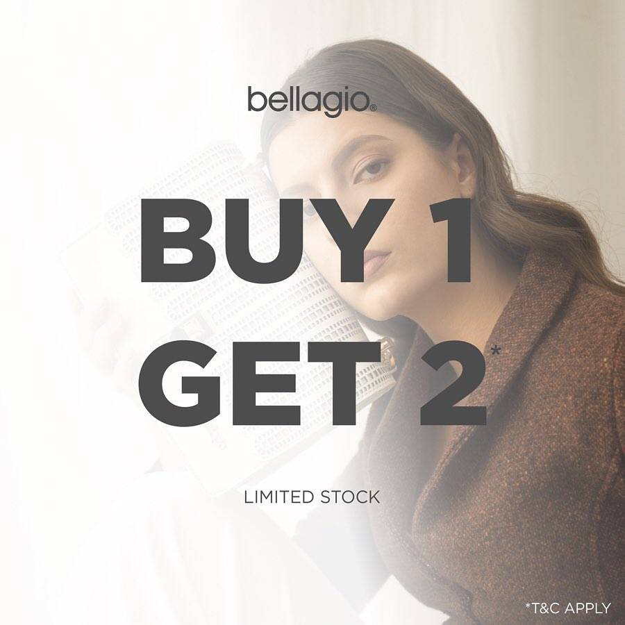 Diskon Bellagio Promo Buy 1 Get 2