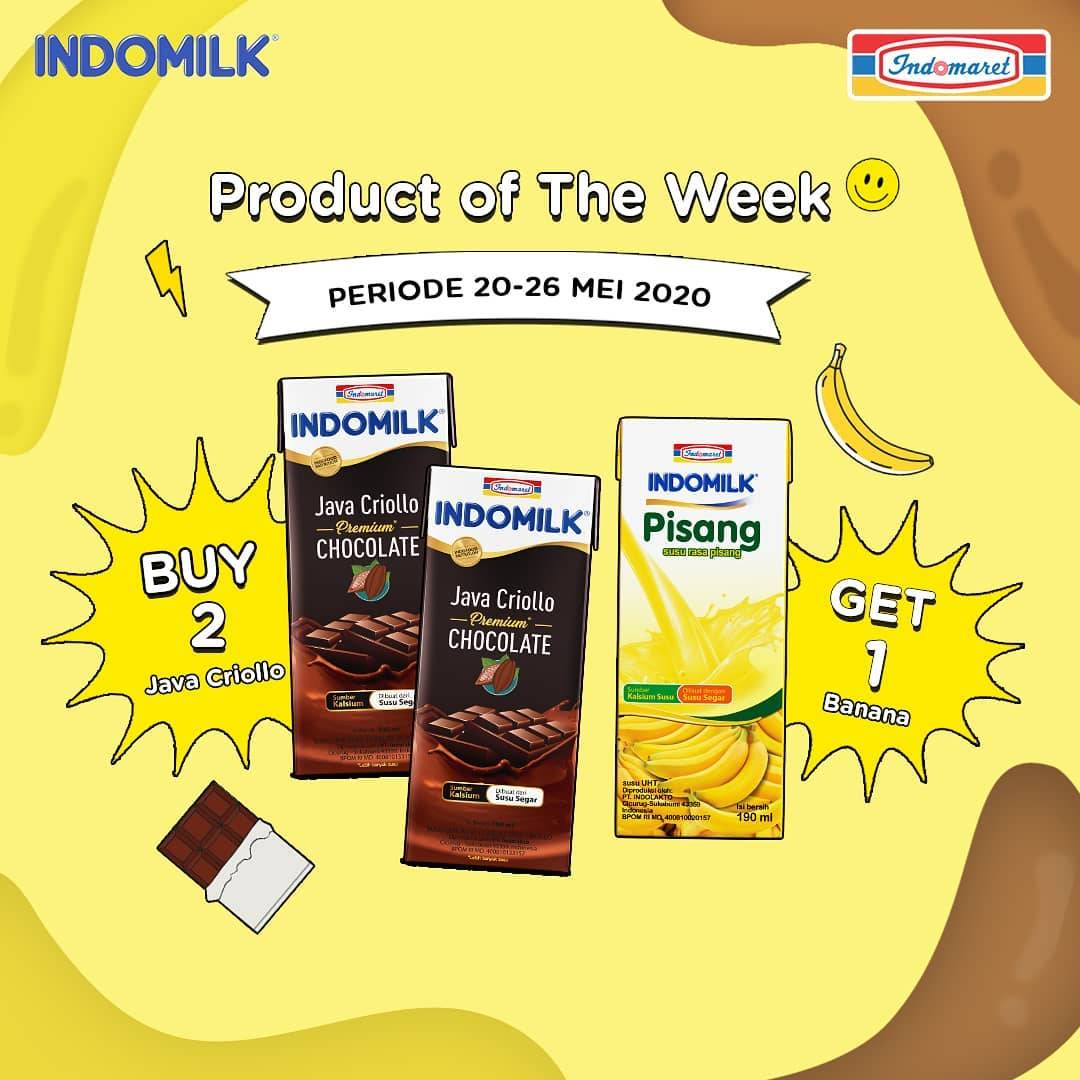 Diskon Indomaret Promo Indomilk Buy 2 Java Criollo Get Free 1 Banana