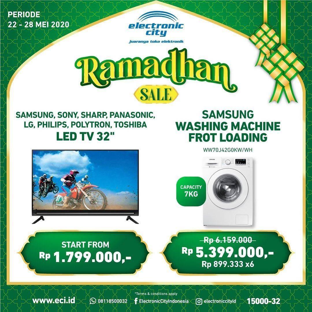 Diskon Electronic City Promo Ramadhan Sale, Produk Elektronik Pilihan Dengan Harga Mulai Dari Rp. 566.100