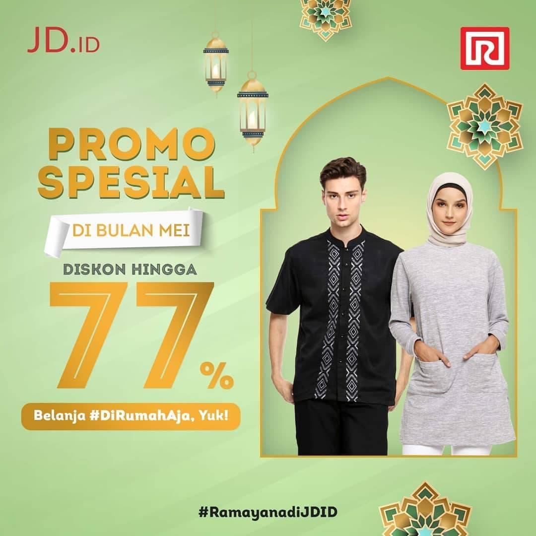 Diskon Ramayana Promo Diskon Hingga 77% Untuk Pembelanjaan Online Melalui JD.ID