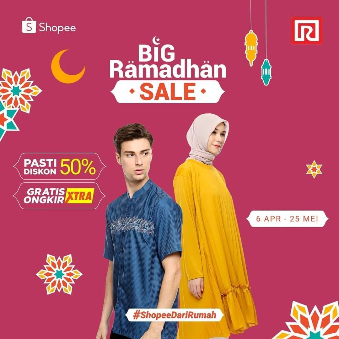 Diskon Ramayana Promo Big Ramadhan Sale Di Shopee, Dapatkan Pasti Diskon 50% + Free Ongkir