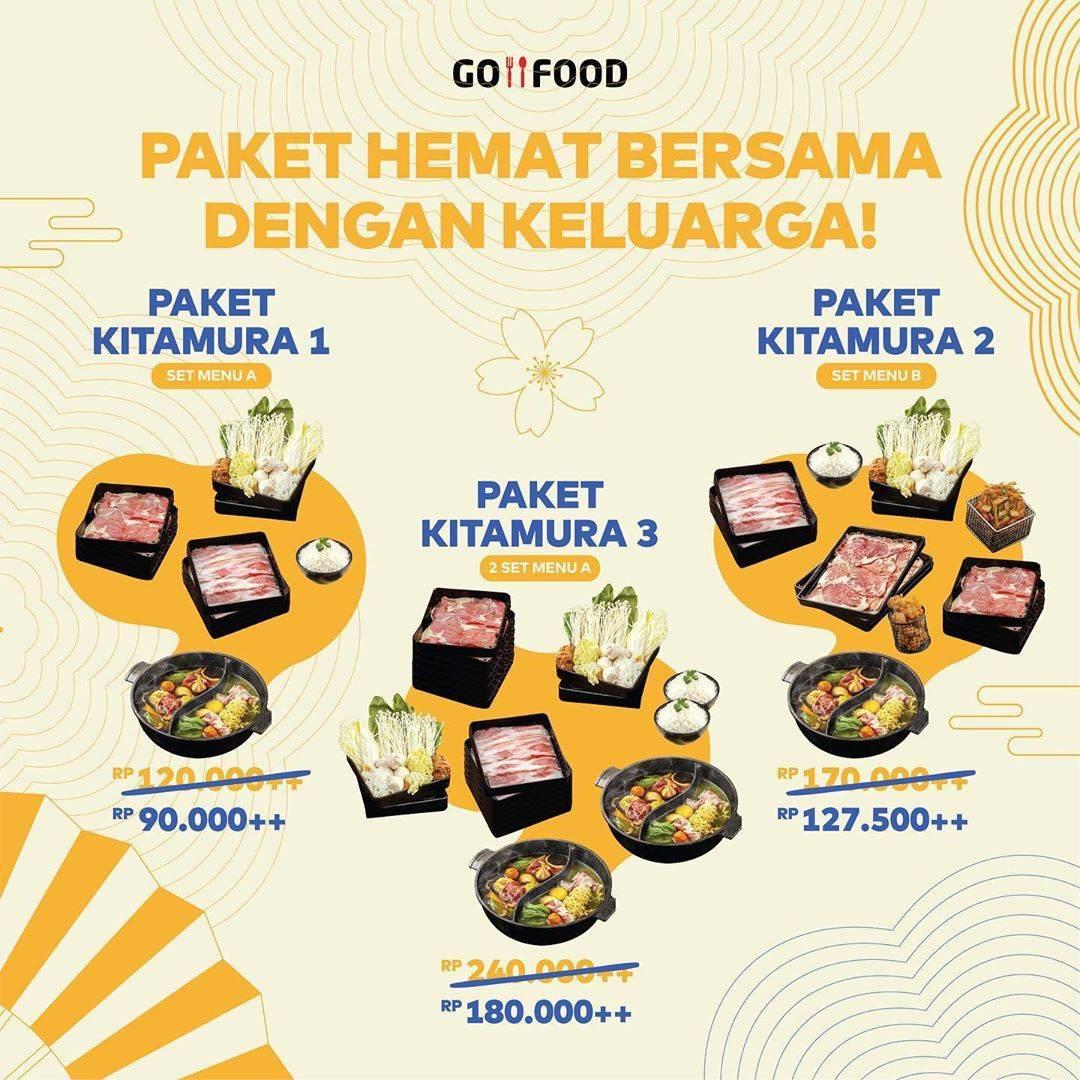 Diskon Kitamura Promo Diskon 25% Untuk Pembelian Paket Kitamura Melalui GoFood