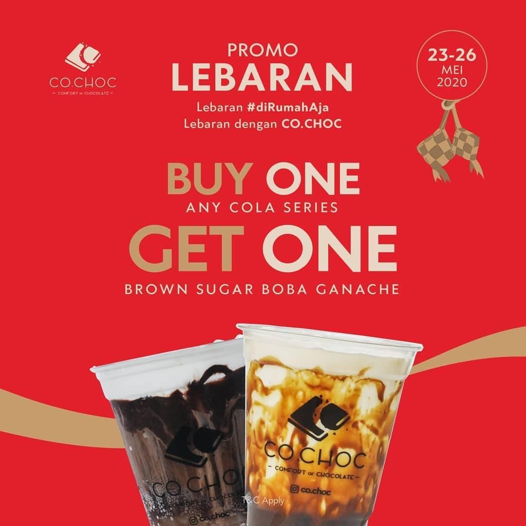 Diskon Co.choc Promo Lebaran, Beli 1 Gratis 1 Untuk Varian Cola Series
