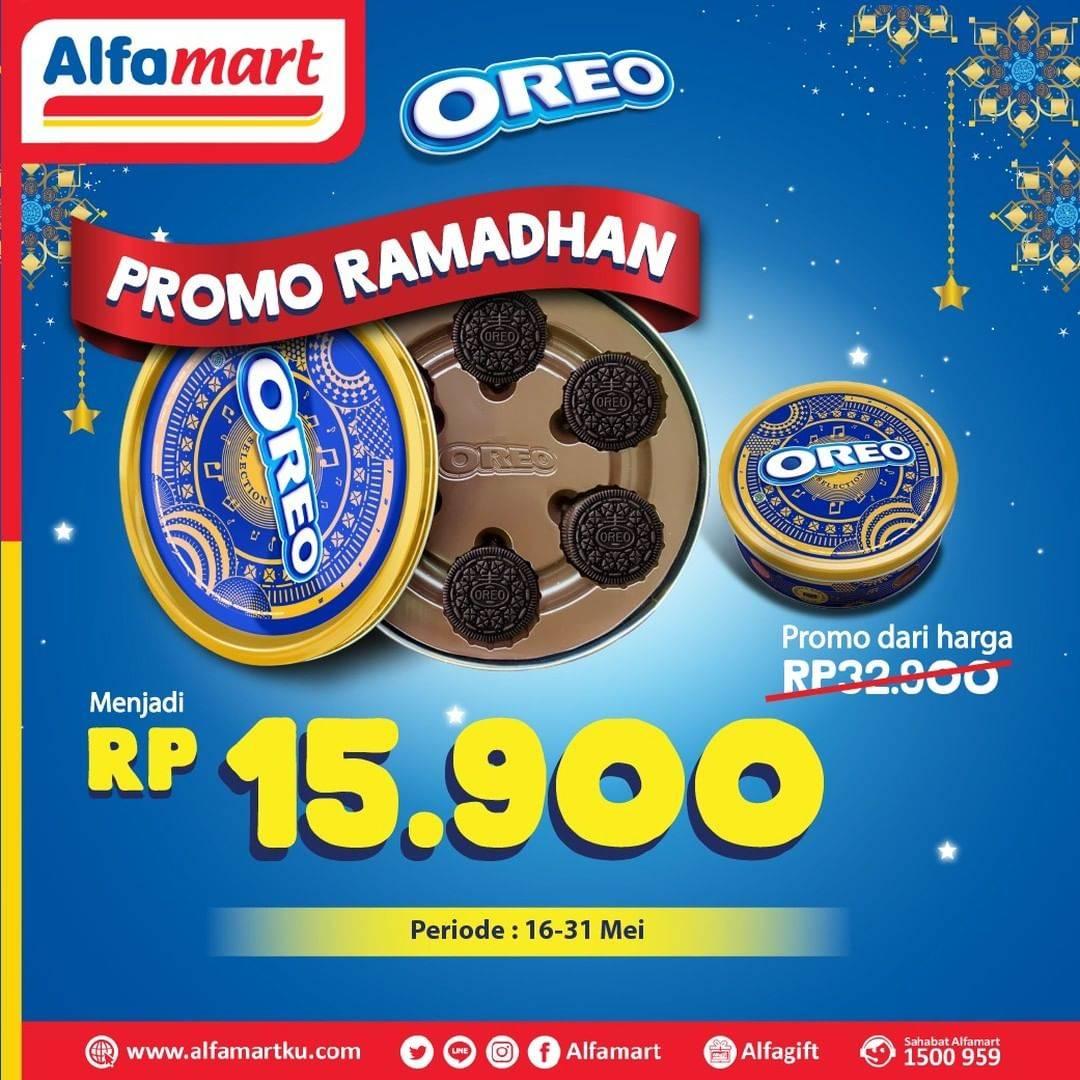 Diskon Alfamart Promo Ramadhan, Harga Spesial Oreo Selection Can 114gr Cuma Rp. 15.900