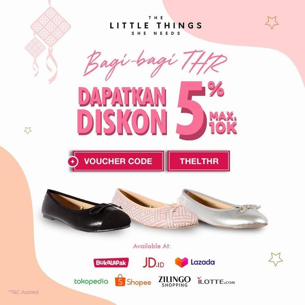 Diskon The Little Things She Needs Promo Diskon 5% Berlaku di Official Store eCommerce Favorit