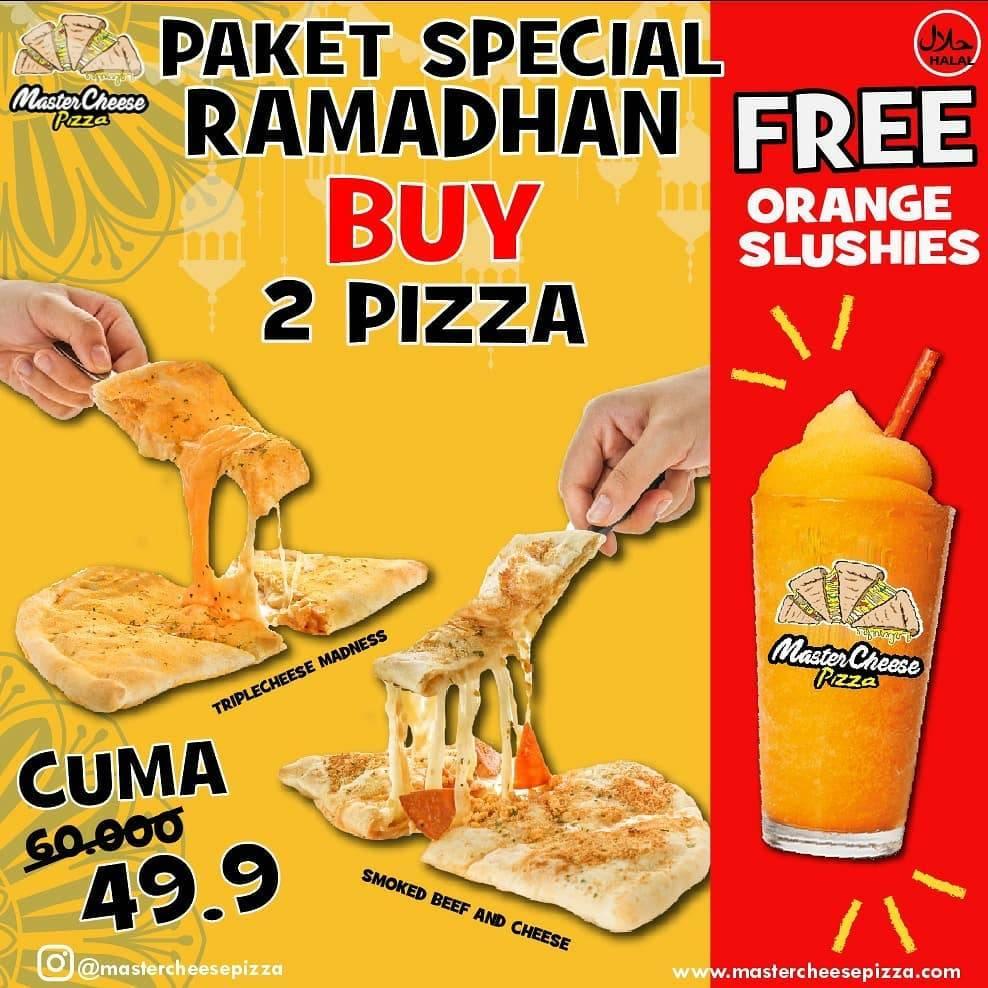 Diskon Mastercheese Pizza Promo Paket Spesial Ramadhan Dengan Harga Mulai Dari Rp. 49.900