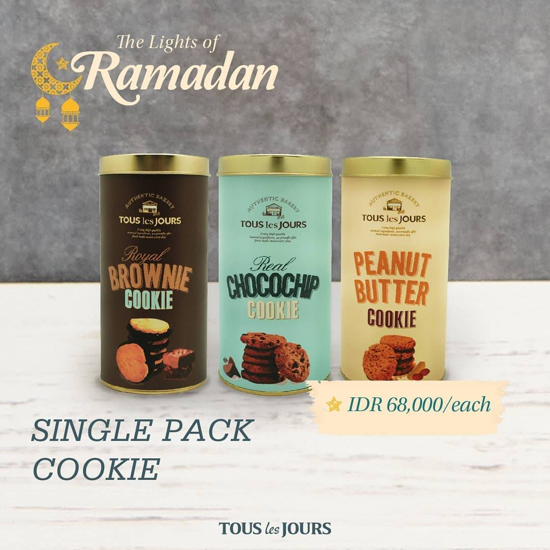 Diskon Tous Les Jours Promo Special Value Single Pack Cookie Only For IDR 68.000/Each