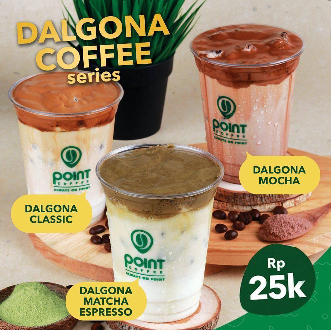 Diskon Point Coffee Promo Harga Spesial Pemesanan Dalgona Series Melalui GrabFood Cuma Rp. 25.000