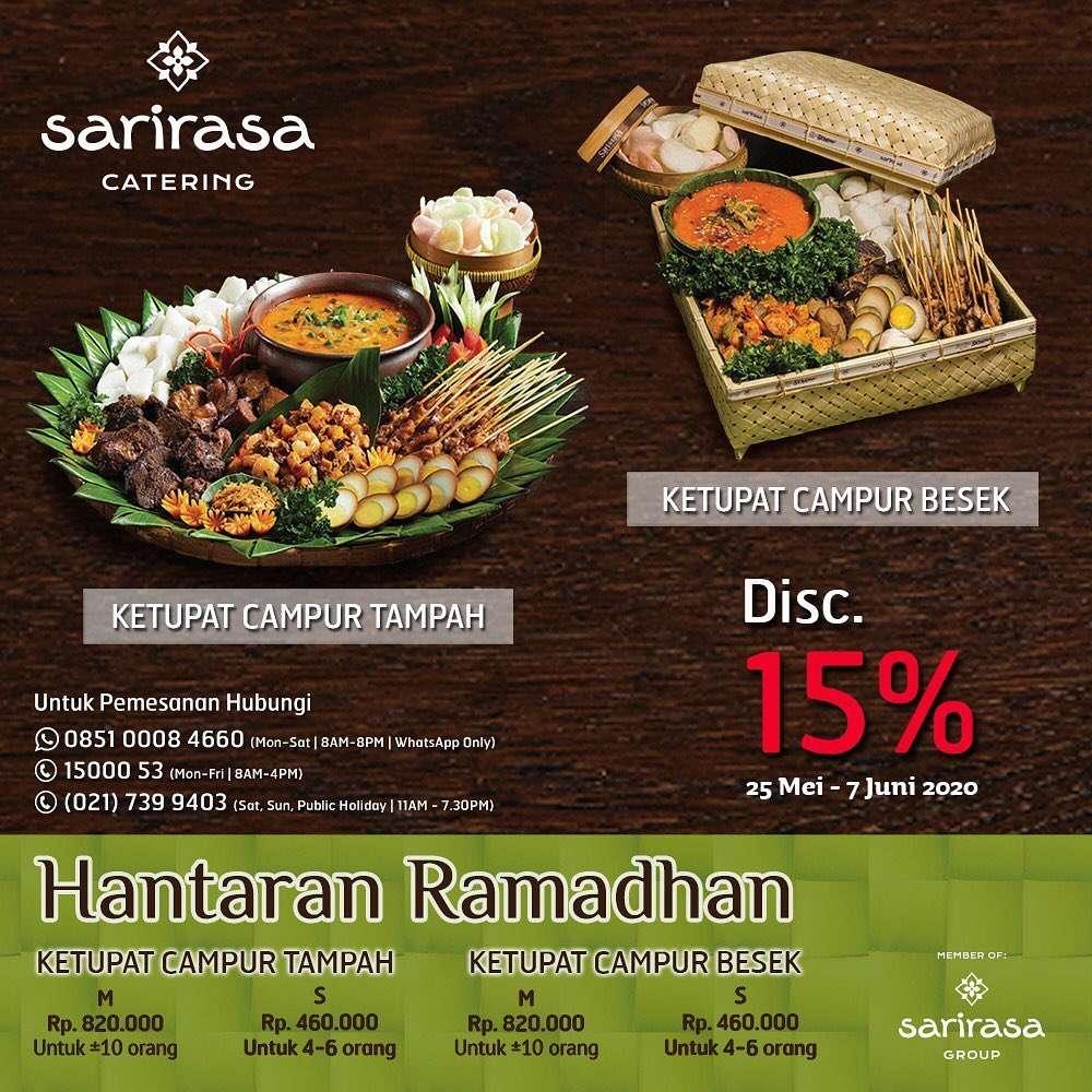 Diskon The Sari Rasa Catering Diskon 15% Untuk Paket Hantaran Ramadhan
