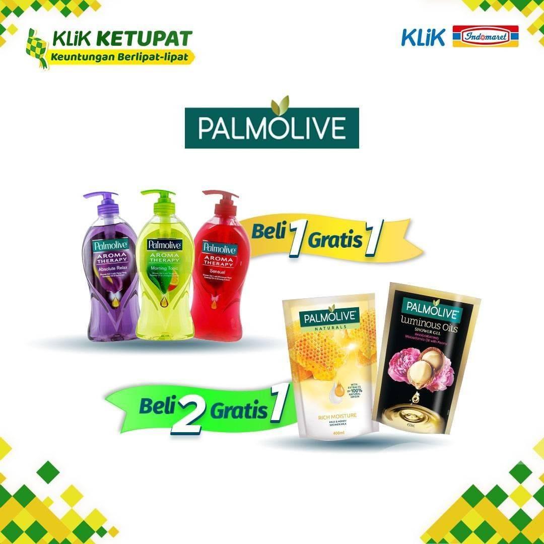 Diskon Klikindomaret Promo Beli 1 Gratis 1 / Beli 2 Gratis 1 Produk Palmolive