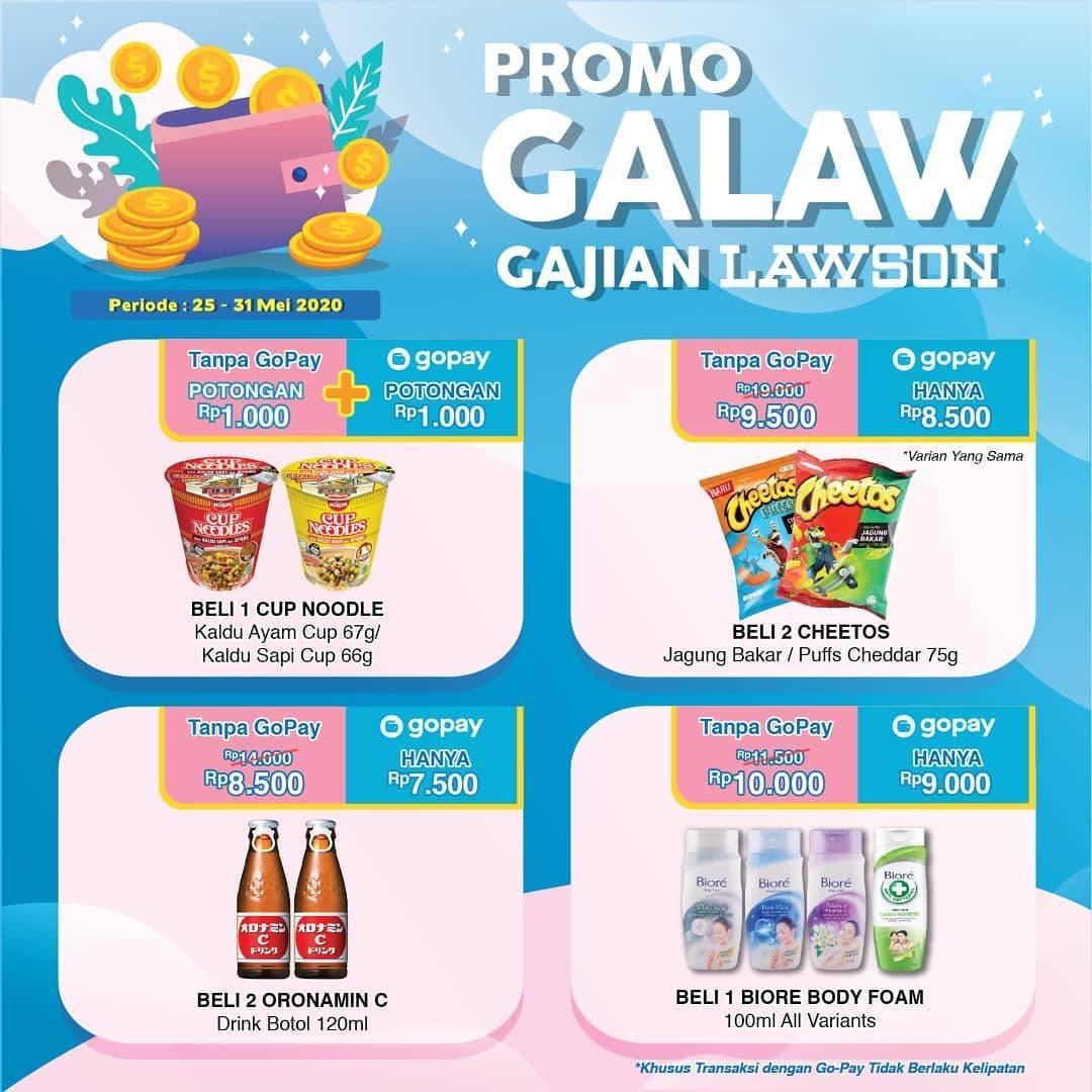 Diskon Lawson Promo Galaw Gajian Untuk Produk Favorit Dengan Transaksi Menggunakan Gopay