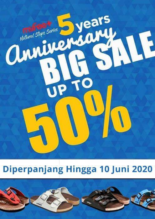 Diskon My Feet Promo Big Sale Up To 50% Off